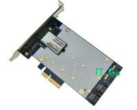 Marvell 9235 SATA 3.0 + 2 NGFF (m.2) Port PCI express 4x Card Support Port Multiplier