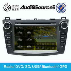 2010-2012 Mazda 3 Car DVD Player with GPS Navigation, radio