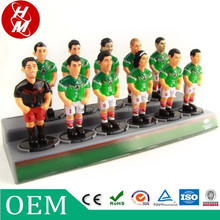 Wholesale soccer game toys,soccer player action figure OEM