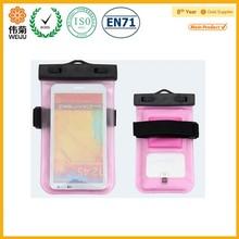 waterproof phone bag case pvc water proof phone bag