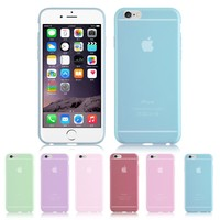 """Slim Thin Ultra Clear Soft TPU Rubber Case Cover For Apple iPhone 6 4.7"""""""