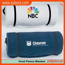 High quality Coral Fleece Travel Blanket