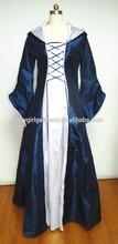 Vestido de fantasía las mujeres trajes medievales pfhc- 0099