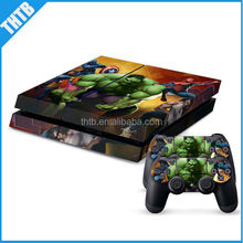 Top quality decal for ps4 playstation 4 vinyl skin sticker controller