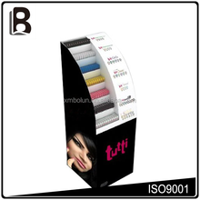 7 tiers cosmetic pop up cardboard display stand