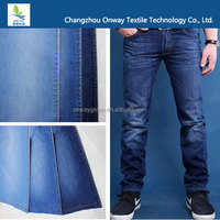 wholesale high quality cotton poly spandex jeans raw material denim kniting fabric