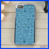 2015 wholesale Leather Sticker Cell Phone case for iPhone 5/5s ,cover for iphone 5s