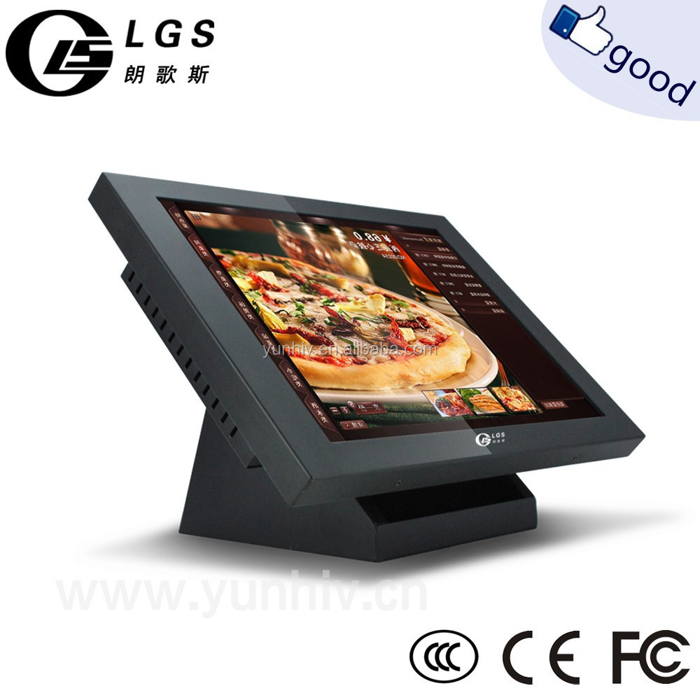 "15"" touch screen monitor/LCD monitor/touch screen computer monitor for POS"