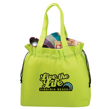 Personalized Free Grocery Fashion Nonwoven Totes Drawstring Bag