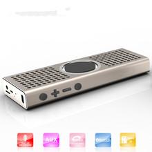 Mini Portable Bluetooth Speaker, aluminium alloy speaker, slim style wireless speaker, Reads Music From TF Cards