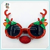 Novelty Cheap Plastic Funny Reindeer Christmas Glasses HPC-1816