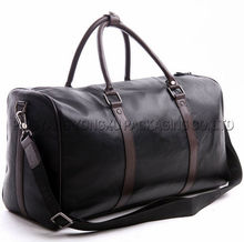 new mens travel bag duffel bag genuine leather bag