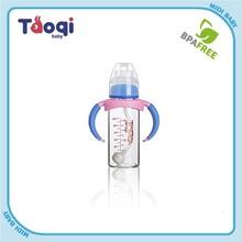 Straight Body Standard Caliber Glass Baby Bottle Feeding