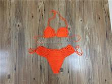 2015 new sexy handmade crochet bikini swimwear