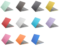 Colorful Clear PC Cover Crystal Hard Case for Macbook pro