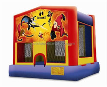 good price and quality inflatable incredibles moon walker on sale
