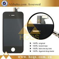 Cheap Mobile Phone LCD Digitizer for iPhone 4/4s For iphone 4/4s lcd display screen and touch digitizer assembly replacement