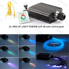 45w led fiber optic light engine with color CB control panel