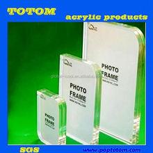 POP Clear acrylic photo frames 5x7 OEM acceptable