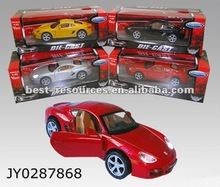 1:32 pull back diecast car model with IC&light/diecast car model