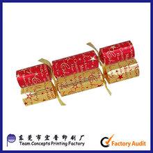 Customer duplex board christmas cracker
