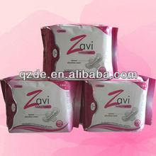 330mm extra-long night use cotton ultra thin sanitary napkin(JHS045)