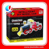 intelligent toy diy train model