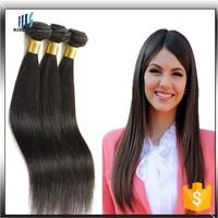 Wholesale Aliexpress 3 Piece/ lot Silky Straight Brazilian Virgin Human Hair Weaving Hair
