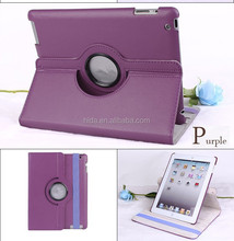 360 Degree Rotation Stand Colorful Leather Case for iPad 2/3/4/air
