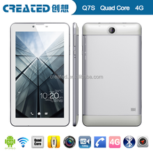 LTE 4G 7 inch Android 5.0 tablet PC MTK8735 1.5GHZ