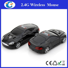 2.4ghz Optical USB Wireless Mouse Notebook Car Mouse For Promotional