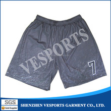 Heat transfer sublimation printing basketball shorts