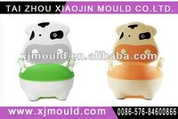 plastic cartoon baby toy urinal mould/baby potty mould