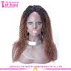 Hot selling wigs 150% density afro kinky curly brazilian human hair full lace wigs for black women