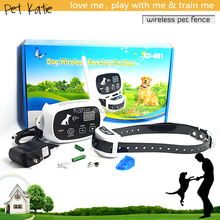 Easy Operation Pet Containment Electric Wireless Dog Fence with E Collar