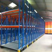 Best selling Q235 steel storage shelf movable shelf