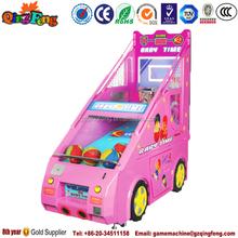 2015 China qingfeng basketball arcade game machine / electronic basketball scoring machine