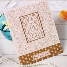 Alibaba china hot-sale leaf shape card for wedding