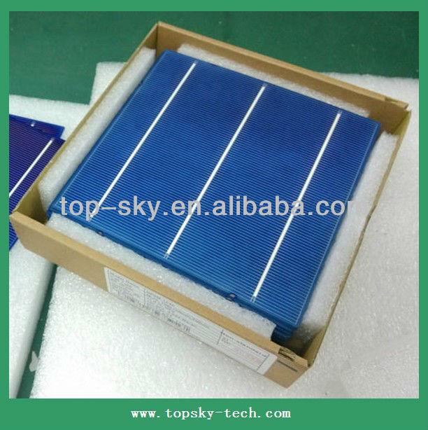 solar cell Hottest sell 156mmx156mm 3BB high efficiency multi-crystalline solar cell