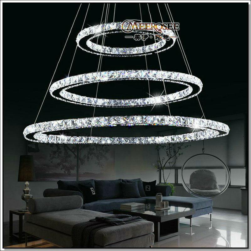 Best Selling Led Crystal Ring Chandelier Lamp Light