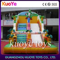 inflatable dry slide ,climbing inflatalbe slide , inflatable jumpping slide