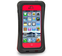 Multifunctional TPU PC Red Pepper 2 in1 Combo Shockproof Waterproof Case Cover For iPhone 5S/5