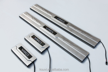 New design steel plate for toyota Yaris LED door sill plate OEM