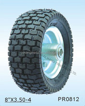 """Special Kind High Quality Pneumatic Rubber Wheel8""""x3.50-4 PR0812"""