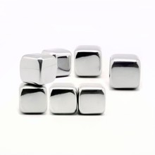 NT-WS13 party essential stainless steel whisky stones dice ice cubes metal ice cubes