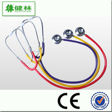 Good price ! Diagnostic dual head chestpiece cardiology stethoscope with unique design for child kid adult