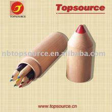 Pencil Shape Color Pencil with Wood Case