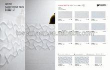 300*600 3d pirture new design super black marble livingroom style selection