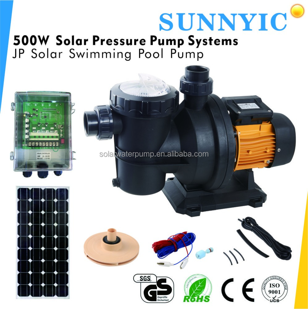 Jp17 15 72 500w Mppt High Efficiency Solar Swimming Pool Water Pump View Solar Pump Sunnyic