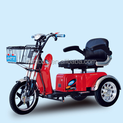 Hot Comfortable Popular Three wheel Adult Electric Tricycle